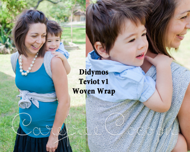 Didymos Teviot v1 wool woven wrap Carefree Cocoon 01