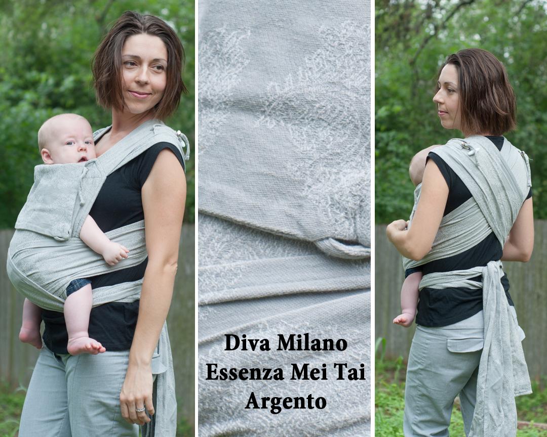 Diva Milano Essenza Mei Tai Argento Carefree Cocoon 01