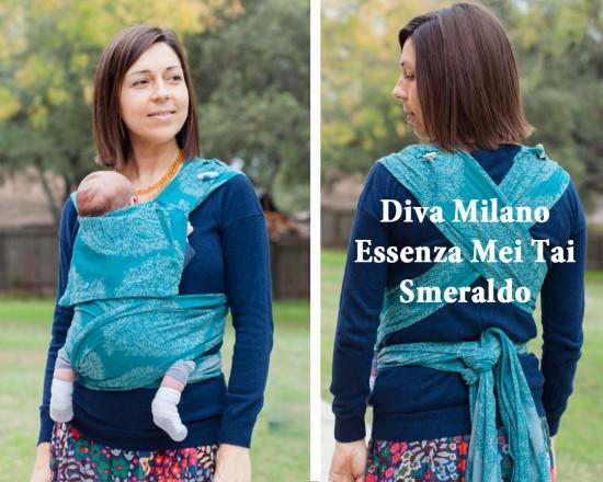 Diva Milano Essenza Mei Tai Smeraldo Carefree Cocoon 01