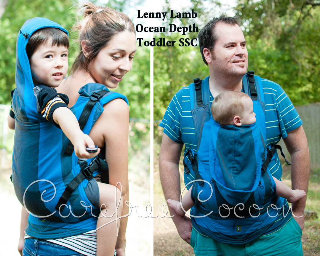 Lenny Lamb Ocean Depth toddler SSC Carefree Cocoon 01