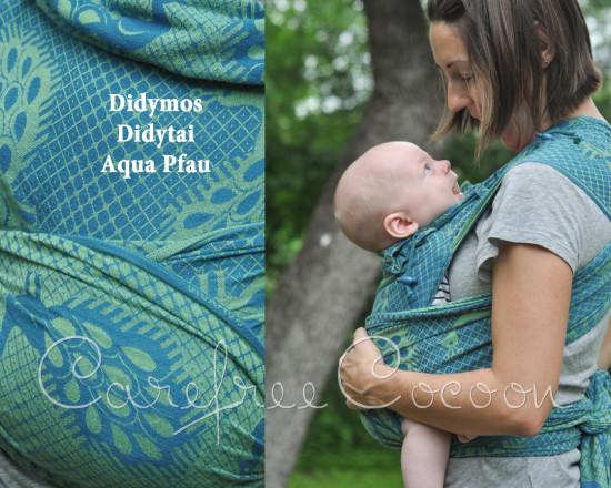 Didymos Didytai Aqua Acqua Pfau mei tai Carefree Cocoon 01