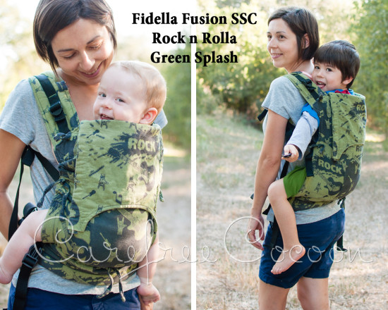 Carefree Cocoon Fidella Fusion SSC Wrap Conversion Rock n Rolla Green Splash 01
