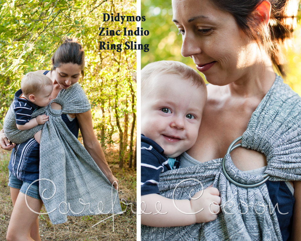 46314c83be1 Didymos Zinc Zink Linen Indio Ring Sling Carefree Cocoon 01
