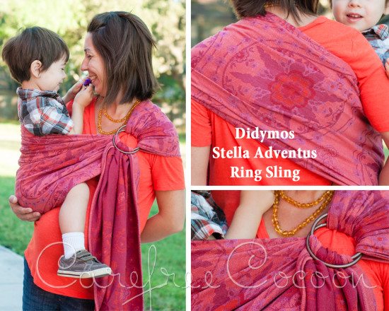 Didymos Stella Adventus ring sling Carefree Cocoon 01