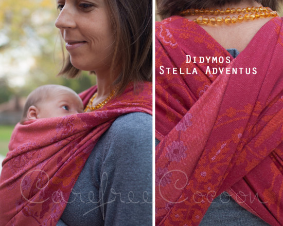 Didymos stella adventus woven wrap Carefree Cocoon 01