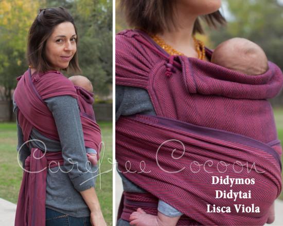 Didymos Didytai Lisca Viola wrap conversion mei tai carefree cocoon 01