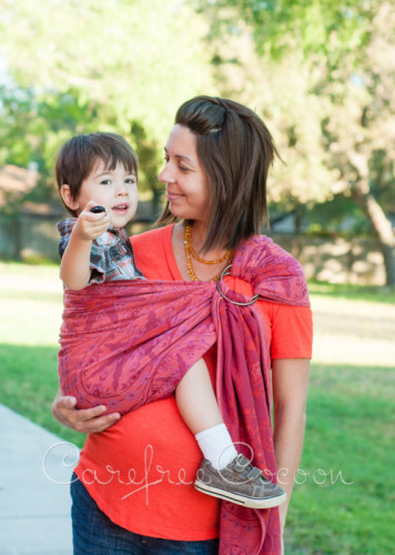 Didymos Stella Adventus ring sling Carefree Cocoon 11