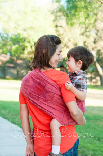 Didymos Stella Adventus ring sling Carefree Cocoon 09