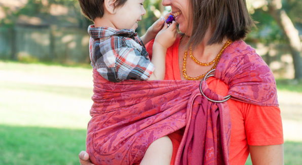 Didymos Stella Adventus ring sling Carefree Cocoon 07