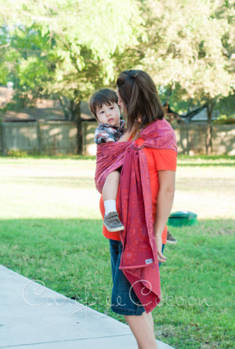 Didymos Stella Adventus ring sling Carefree Cocoon 05