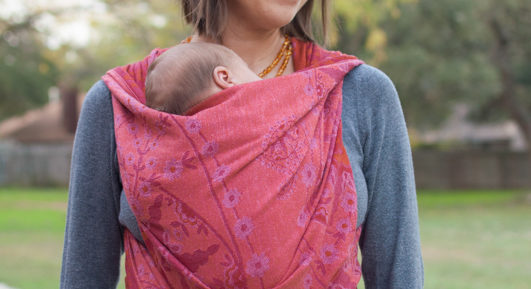 Didymos stella adventus woven wrap Carefree Cocoon 04