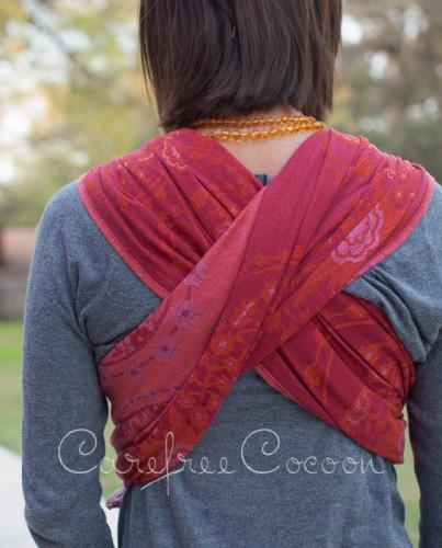 Didymos stella adventus woven wrap Carefree Cocoon 03