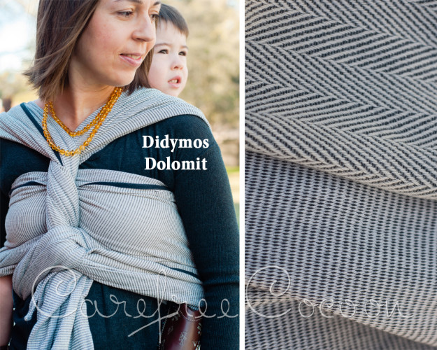 Didymos Dolomit woven Wrap grey review Carefree Cocoon 01