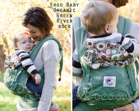 Ergo Baby Organic Green River Rock SSC Carefree Cocoon 01