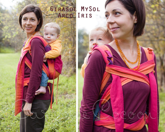 Girasol MySol Arco Iris Wrap Conversion Mei Tai WCMT Review Carefree Cocoon 01