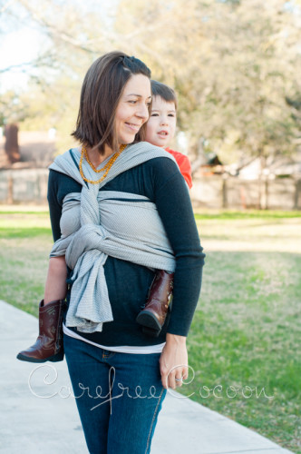 Didymos Dolomit woven Wrap grey review Carefree Cocoon 08