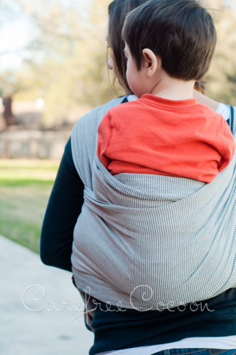 Didymos Dolomit woven Wrap grey review Carefree Cocoon 06