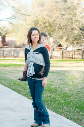 Didymos Dolomit woven Wrap grey review Carefree Cocoon 05