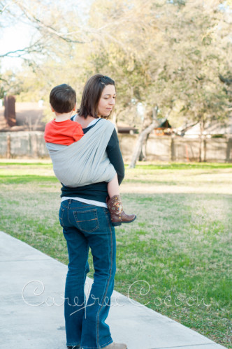Didymos Dolomit woven Wrap grey review Carefree Cocoon 04