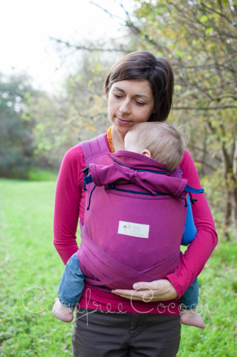 Storchenweige Storch Baby Carrier Mei Tai Violet Review Carefree Cocoon 10