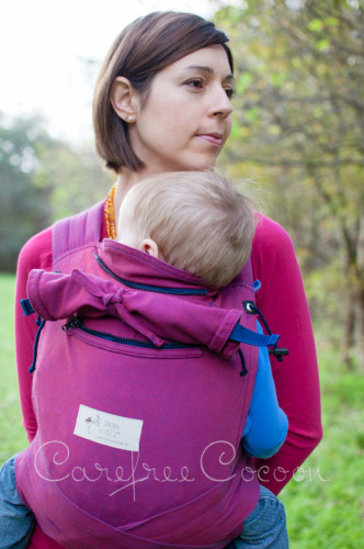 Storchenweige Storch Baby Carrier Mei Tai Violet Review Carefree Cocoon 09