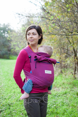 Storchenweige Storch Baby Carrier Mei Tai Violet Review Carefree Cocoon 08