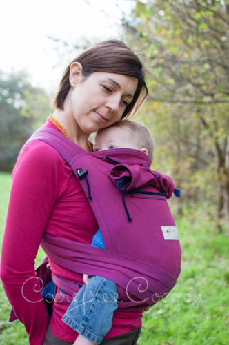 bb1c425331e Storchenweige Storch Baby Carrier Mei Tai Violet Review Carefree Cocoon 04