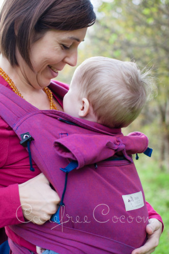 Storchenweige Storch Baby Carrier Mei Tai Violet Review Carefree Cocoon 03