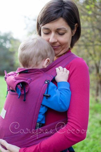 Storchenweige Storch Baby Carrier Mei Tai Violet Review Carefree Cocoon 02