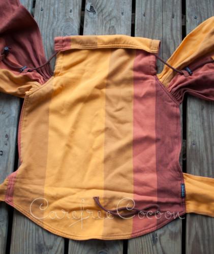 Didymos Didytai Stripes Martin wrap conversion mei tai review Carefree Cocoon 06