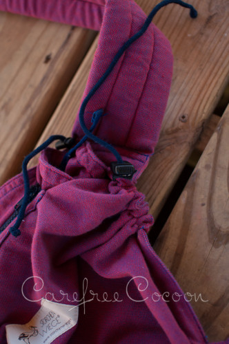 Storchenweige Storch Baby Carrier Mei Tai Violet Review Carefree Cocoon 24