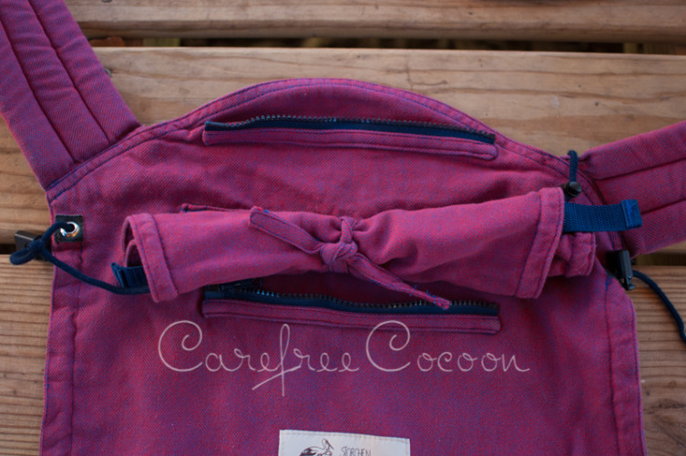 Storchenweige Storch Baby Carrier Mei Tai Violet Review Carefree Cocoon 18