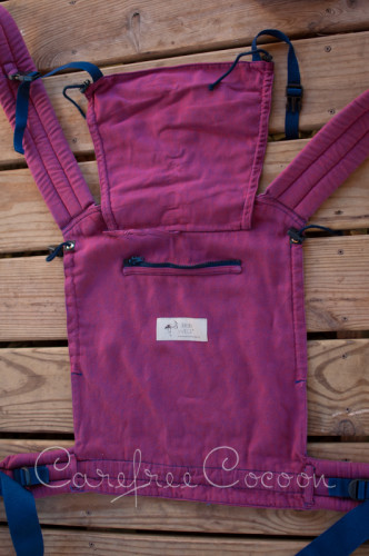 Storchenweige Storch Baby Carrier Mei Tai Violet Review Carefree Cocoon 13
