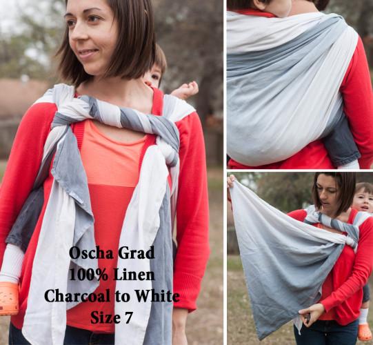 Oscha Linen Grey Grad 7 for sale