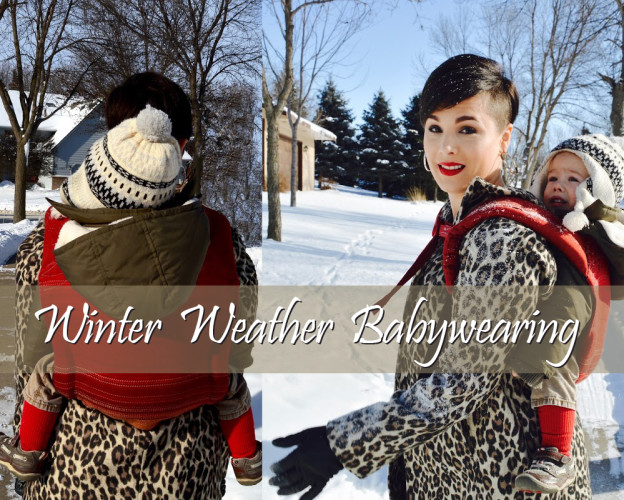53233a2eb Winter Weather Babywearing