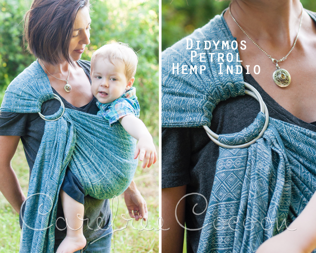 Linen Ring Sling Sleeping Baby Productions