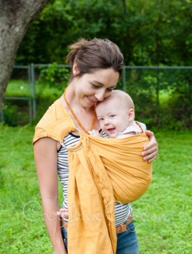 Bibetts Linen Ring Sling