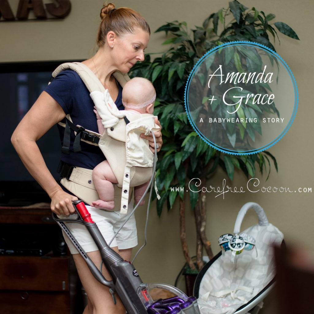 Amanda babywearing story