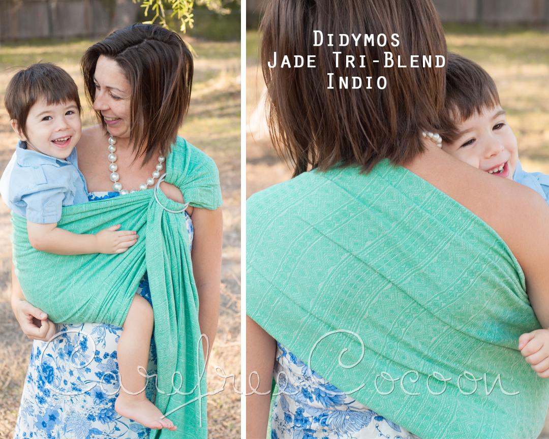 Didymos Jade Tri Blend Indio Hemp Linen Cotton Wrap