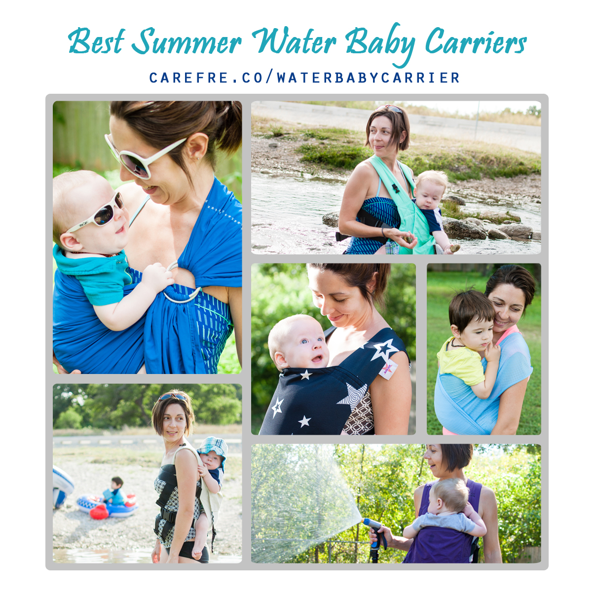 Baby Water Ring Sling Baby Cotton Hipseat s Ring Breathable Chest Sling Infant Carrier for Summer Swimming Pool Beach